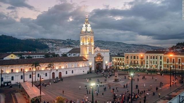Alojarse en el Centro Histórico de Quito