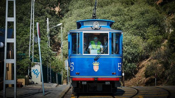 Tramvia Blau - Sarrià Gervasi, Barcelona