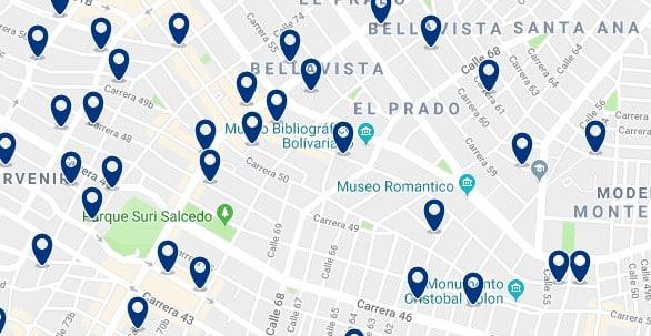 Alojamiento en El Prado - Haz clic para ver todo el alojamiento disponible en esta zona