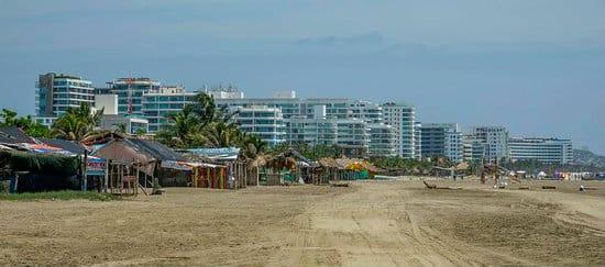 La Boquilla - Zonas recomendadas donde alojarse en Cartagena