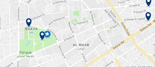 Alojamiento cerca del Khalifa International Stadium - Haz clic para ver todo el alojamiento disponible en esta zona