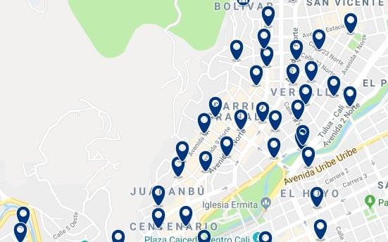 Alojamiento en Versalles, Granada & Juanambú - Haz clic para ver todo el alojamiento disponible en esta zona