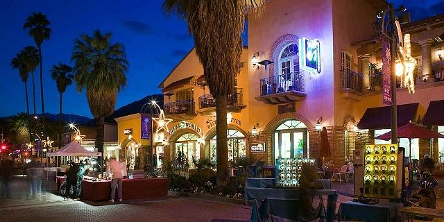 Mejor zona donde alojarse en el Valle de Coachella - Palm Springs