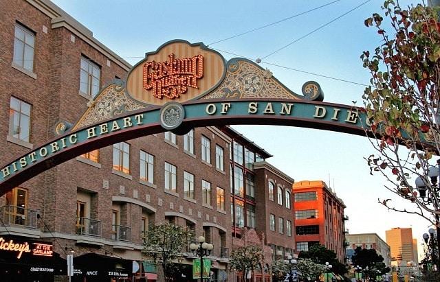 Mejores barrios donde alojarse en San Diego - Gaslamp District