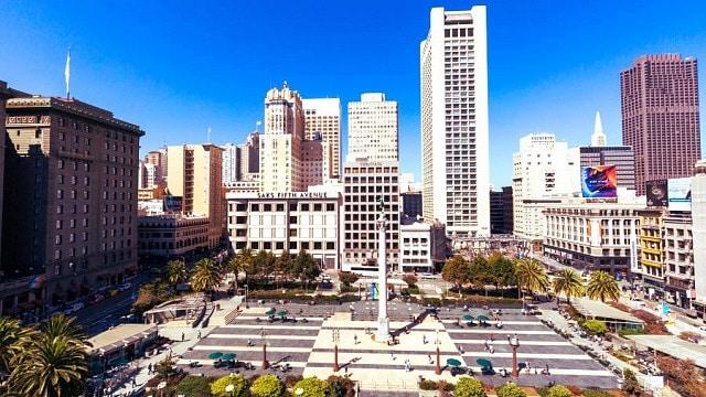Mejores zonas donde alojarse en San Francisco - Union Square