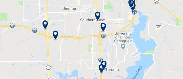 Alojamiento cerca de University of Illinois Springfield - Haz clic para ver todo el alojamiento disponible en esta zona