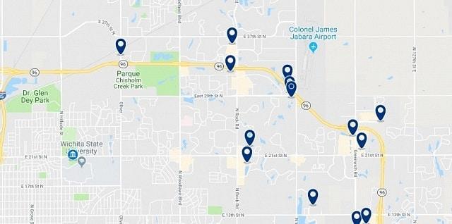 Alojamiento cerca de la Wichita State University - Haz clic para ver todo el alojamiento disponible en esta zona