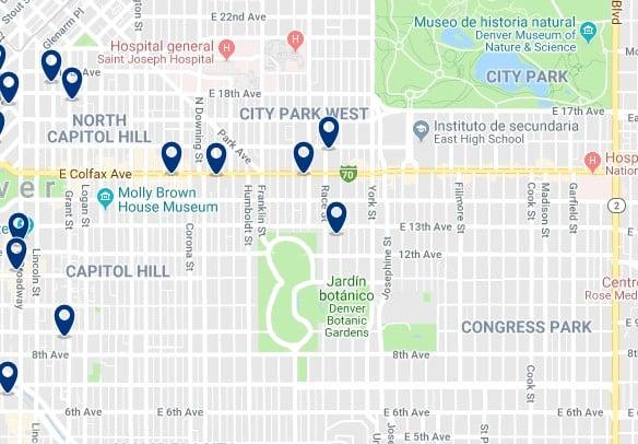 Alojamiento en Capitol Hill - Haz clic para ver todo el alojamiento disponible en esta zona