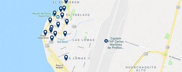 Alojamiento en Huanchaco - Haz clic para ver todo el alojamiento disponible en esta zona
