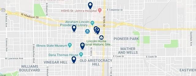 Alojamiento en Springfield Historic District - Haz clic para ver todo el alojamiento disponible en esta zona