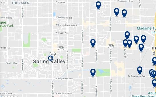 Alojamiento en West of Las Vegas Strip - Haz clic para ver todo el alojamiento disponible en esta zona