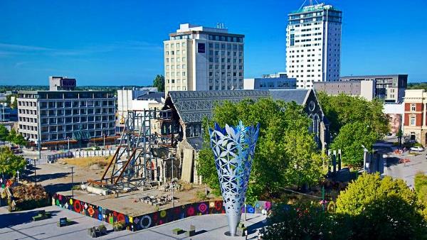 Dónde alojarse en Christchurch - Christchurch City Centre