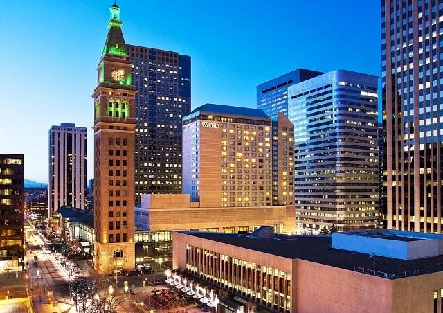 Mejores zonas donde alojarse en Denver - Downtown Denver