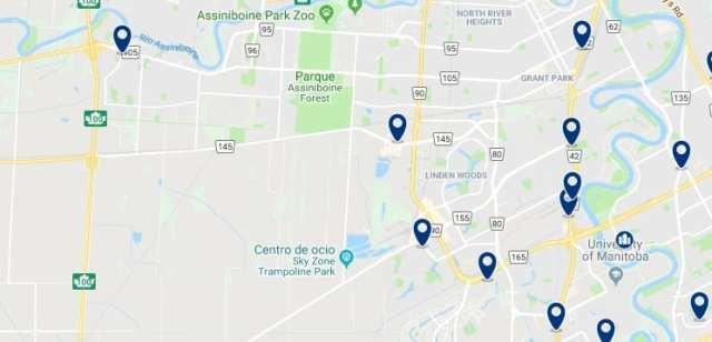 Alojamiento en Fort Garry - Haz clic para ver todo el alojamiento disponible en esta zona