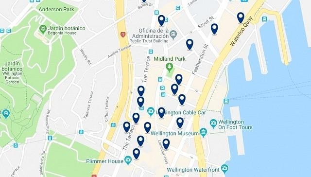 Alojamiento en Lambton Quay - Haz clic para ver todo el alojamiento disponible en esta zona