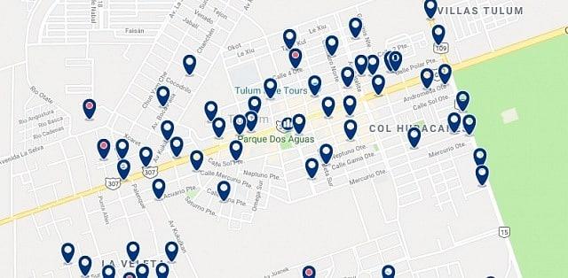 Alojamiento en Tulum Centro - Haz clic para ver todo el alojamiento disponible en esta zona