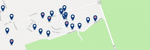 Accommodation in Zama - Click on the map to see all available accommodation in this area