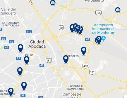 Alojamiento en Apodaca – Haz clic para ver todo el alojamiento disponible en esta zona