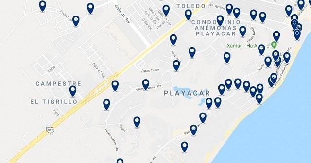 Alojamiento en Playacar I - Haz clic para ver todo el alojamiento disponible en esta zona