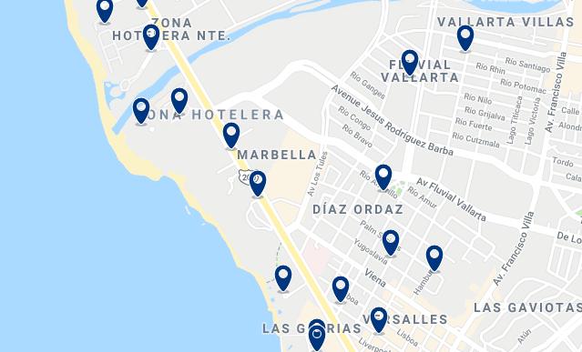 Alojamiento en la Zona Hotelera – Haz clic para ver todo el alojamiento disponible en esta zona
