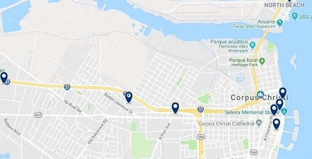 Alojamiento en Downtown Corpus Christi - Haz clic para ver todo el alojamiento disponible en esta zona