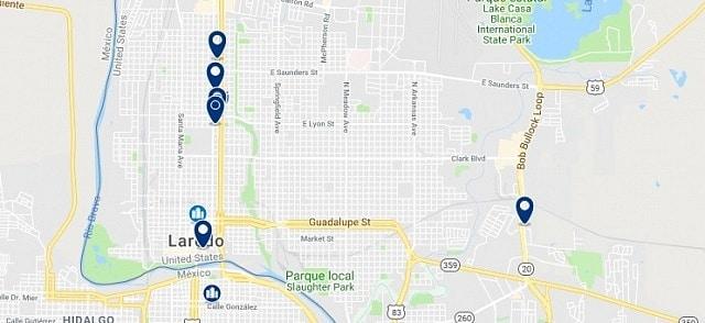 Alojamiento en Laredo, Texas - Haz clic para ver todo el alojamiento disponible en esta zona