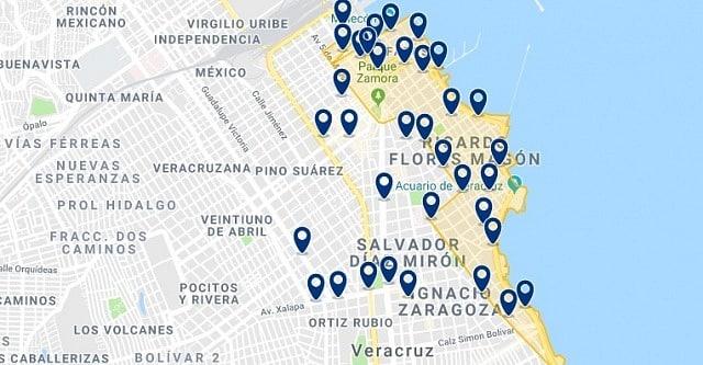 Alojamiento en Veracruz Malecón - Haz clic para ver todo el alojamiento disponible en esta zona