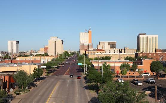 Dónde alojarse en Lubbock Texas Downtown