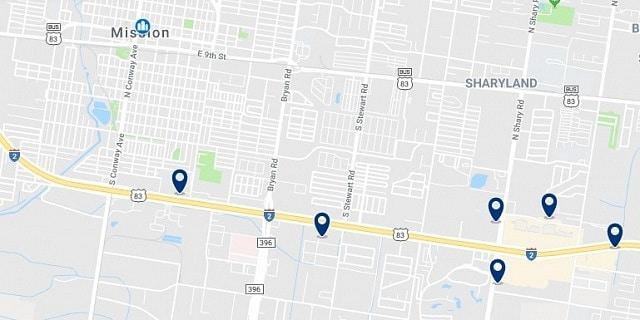 Alojamiento en Mission - Haz clic para ver todo el alojamiento disponible en esta zona
