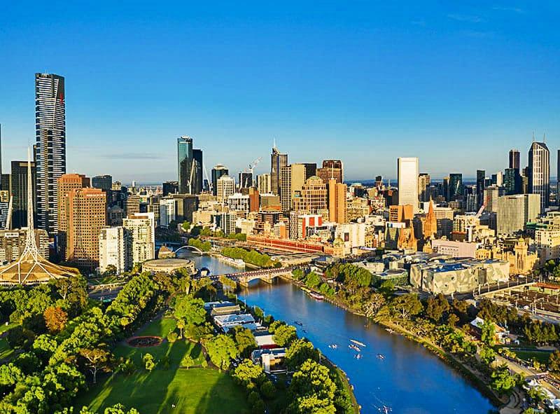 CBD - Dónde alojarse en Melbourne, Australia