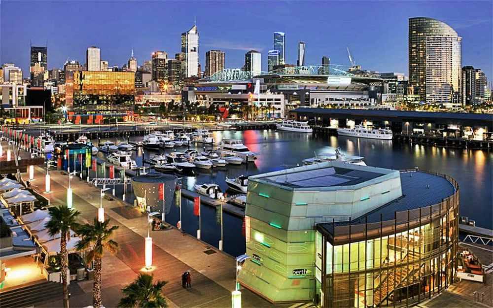 Mejores zonas donde alojarse en Melbourne - Docklands