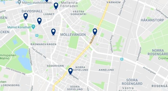 Alojamiento en Innerstaden - Haz clic para ver todos el alojamiento disponible en esta zona