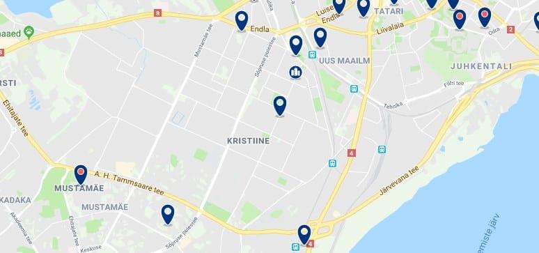 Alojamiento en Kristiine - Haz clic para ver todos el alojamiento disponible en esta zona