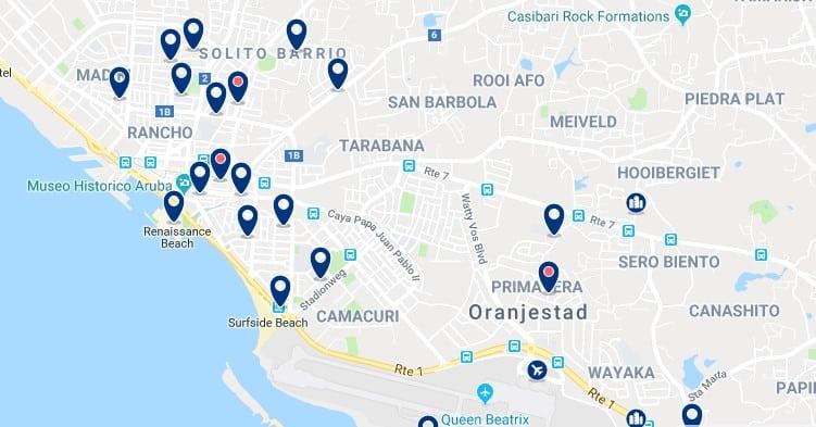 Alojamiento en Oranjestad - Haz clic para ver todos el alojamiento disponible en esta zona