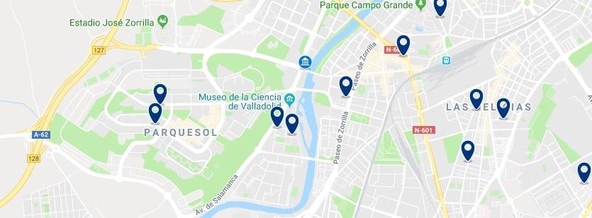 Alojamiento en el sudoeste de Valladolid - Haz clic para ver todos el alojamiento disponible en esta zona