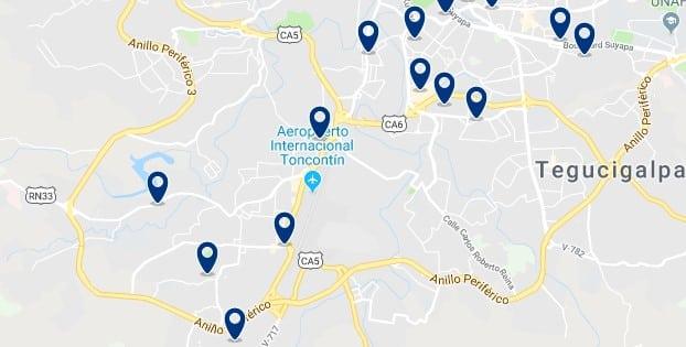 Alojamiento en el sur de Tegucigalpa - Haz clic para ver todos el alojamiento disponible en esta zona