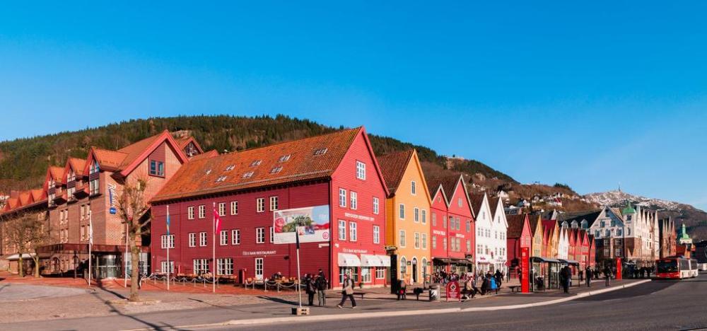 Dónde dormir en Bergen - Bergenhus