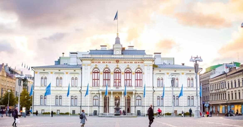 Mejores zonas donde alojarse en Tampere - Centro de la ciudad
