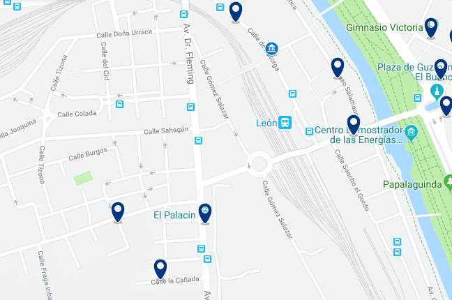 Alojamiento cerca de la estación RENFE – Haz clic para ver todo el alojamiento disponible en esta zona