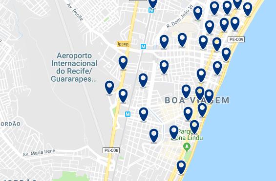 Alojamiento en Boa Viagem – Haz clic para ver todo el alojamiento disponible en esta zona
