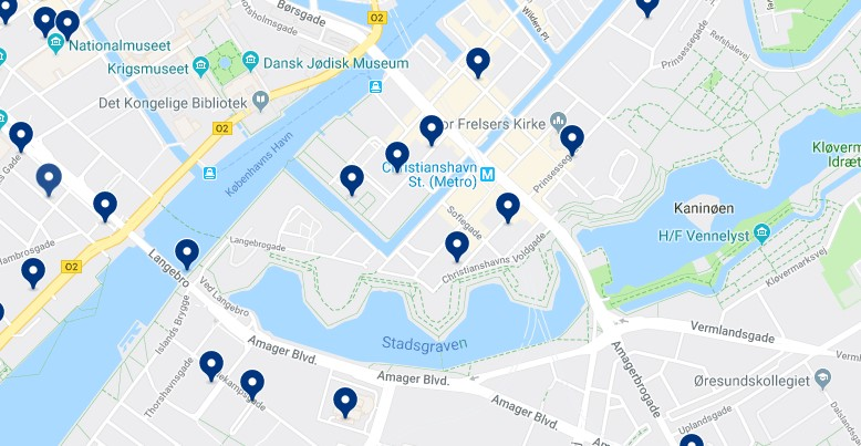 Alojamiento en Christianshavn - Haz clic para ver todos el alojamiento disponible en esta zona