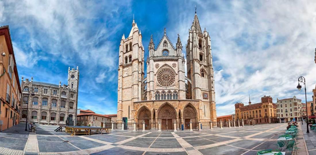 Dónde alojarse en León, España