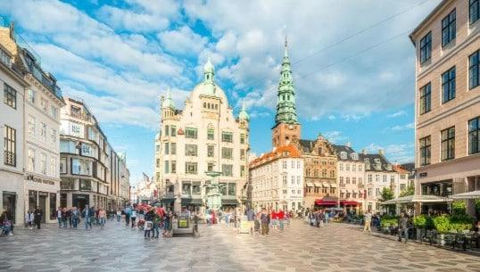 Mejores zonas donde alojarse en Copenhague - Centro Histórico