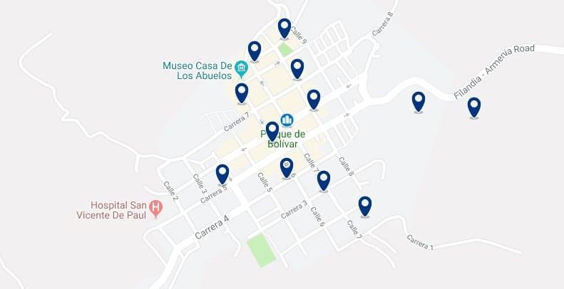 Alojamiento en Filandia - Haz clic para ver todos el alojamiento disponible en esta zona