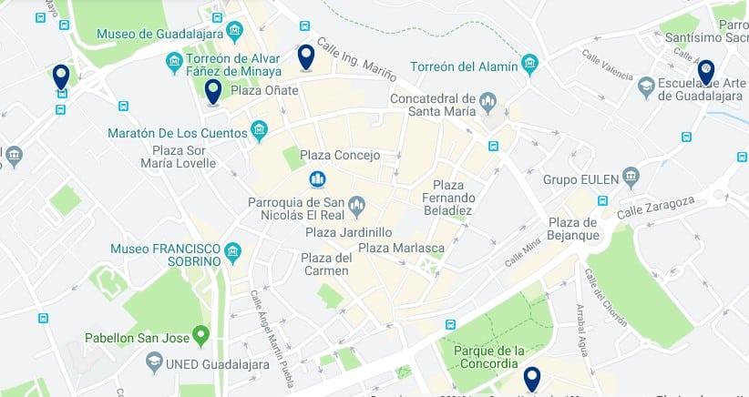 Alojamiento en el Centro de Histórico de Guadalajara - Haz clic para ver todos el alojamiento disponible en esta zona