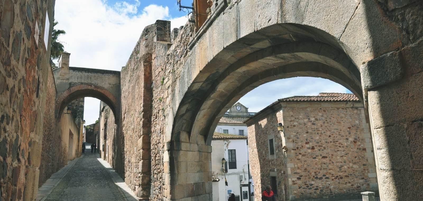 Las mejores zonas donde alojarse en Cáceres, España