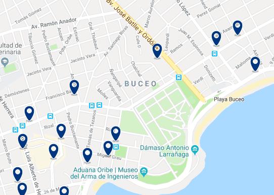 Alojamiento en Buceo – Haz clic para ver todo el alojamiento disponible en esta zona