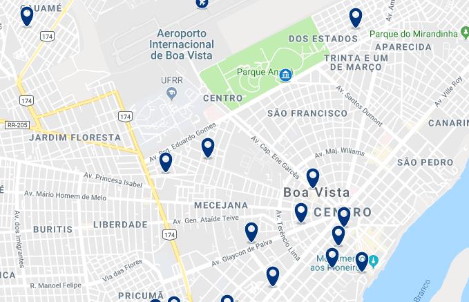 Alojamiento en el centro de Boa Vista – Haz clic para ver todo el alojamiento disponible en esta zona