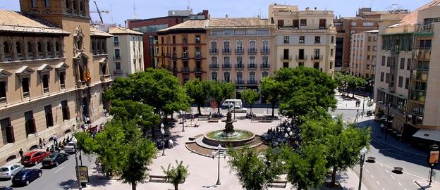 Mejores zonas donde alojarse en Huesca - Centro Histórico