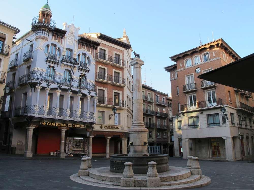 Mejores zonas donde dormir en Teruel - Centro Histórico